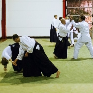 Who can practice AIKIDO?