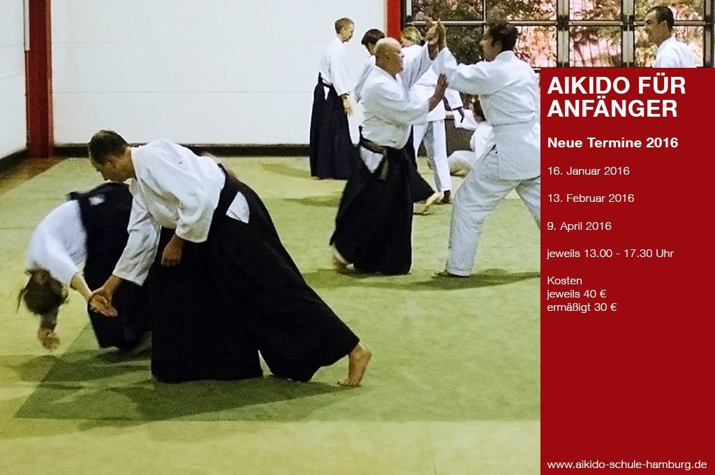 Einsteigerseminare Aikido