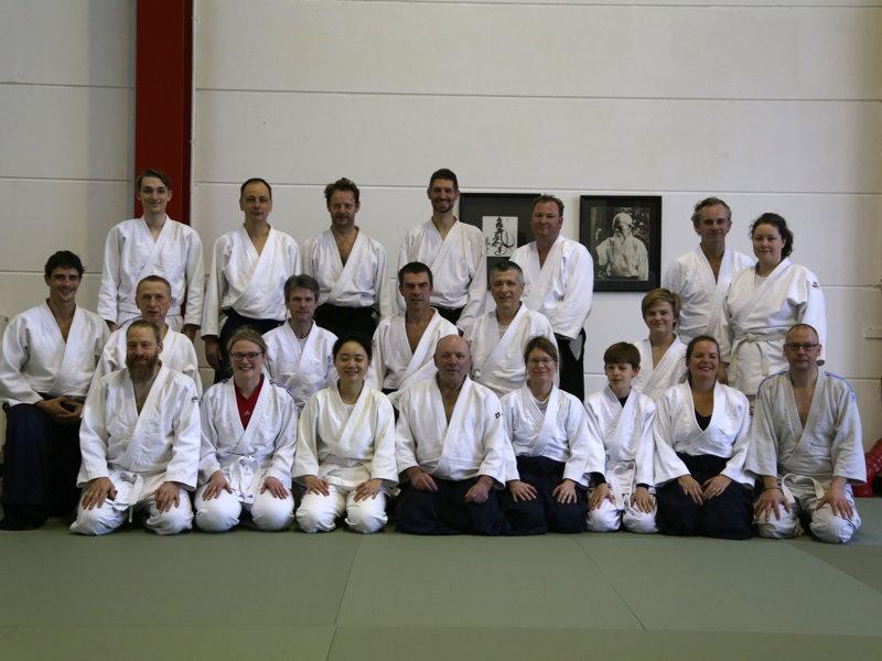 Teilnehmer Aikido-Seminar Januar 2018 Credit: Klaus Radetzki